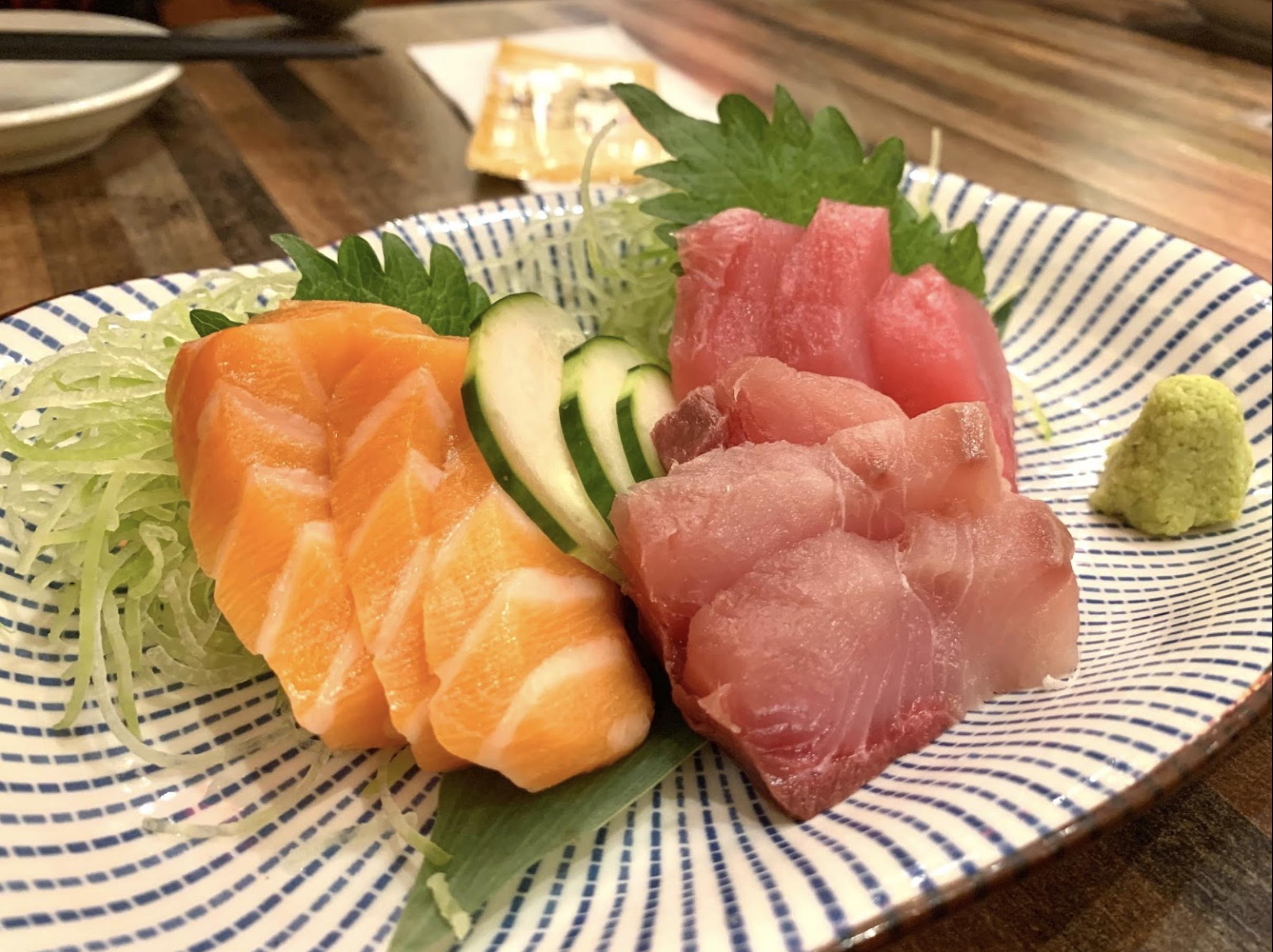 旺角烧肉/令和居酒屋/除左烧烤之外,呢到都有火锅同鱼生,食材都好出色~~